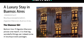 Huffington Post Highlights Algodon Mansion