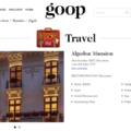 "Algodon Mansion featured in Gwyneth Paltrow's ""goop"""