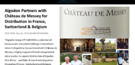 Algodon Partners with Chateau De Messey!