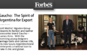 Gaucho – Buenos Aires Featured in Forbes!